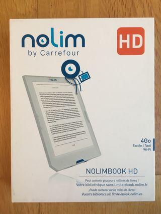 Libro electronico. eBook Nolim HD. 6 pulgadas