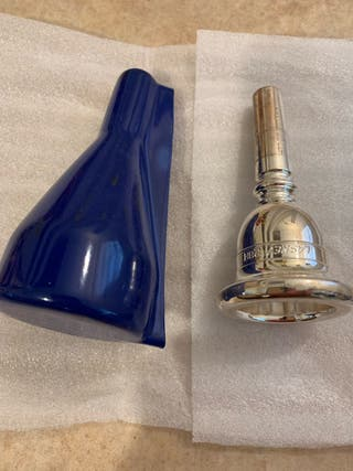 Laskey 28H tuba mouthpiece