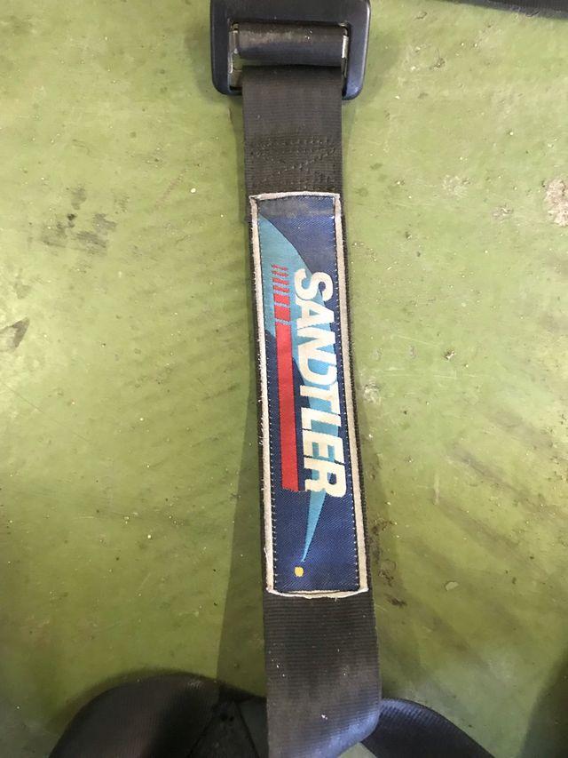 Baquets sparco con guías para bmw e30 +arneses