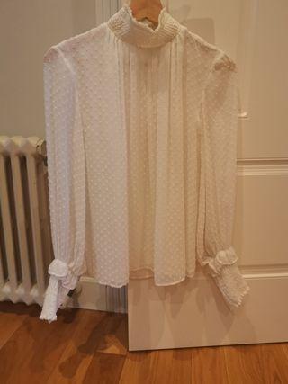 blusa plumeti Zara y S