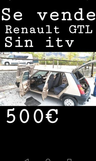 Renault r5 gtl 80