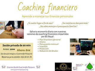 Coaching Financiero Solidario