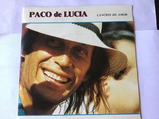 PACO DE LUCIA SINGLE VINILO CANCIÓN DE AMOR