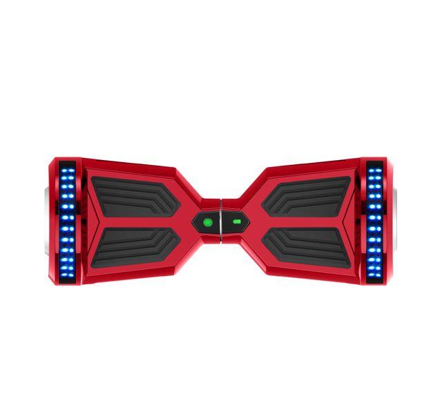 Hoverboard Monopatín Eléctrico F12 Rojo