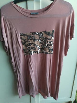 Camiseta talla XL Zara
