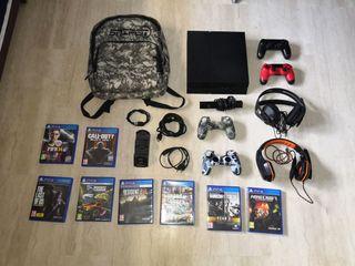 PS4 Nueva!! muchos accesorios!!!