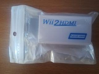 Adaptador HDMI Wii (¡me quedan solo 2!)