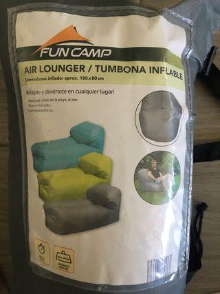Tumbona inflable. NUEVA
