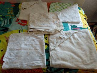 lote toallas de bebé