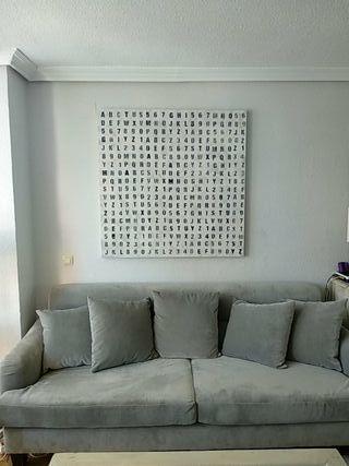 cuadro moderno salón