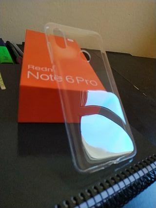 Funda oficial Redmi Note 6 Pro Nueva