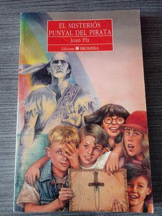 Libro de lectura: el misteri'os punyaldel pirata.