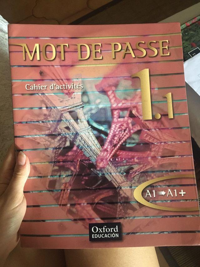 Libro de Francés Mot de Passe