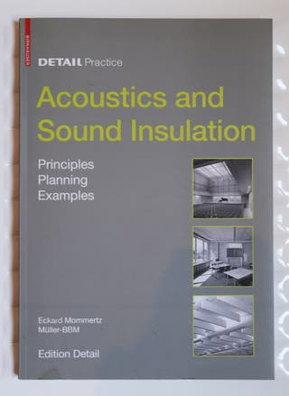 "Libro técnico ""Acoustics and Sound Insulation"""
