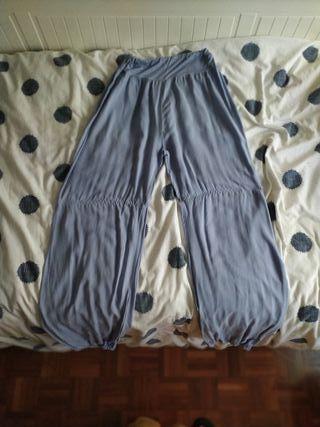 Pantalón hippie azul cielo