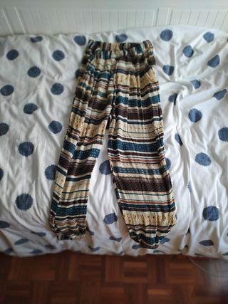 Pantalón hippie estampado