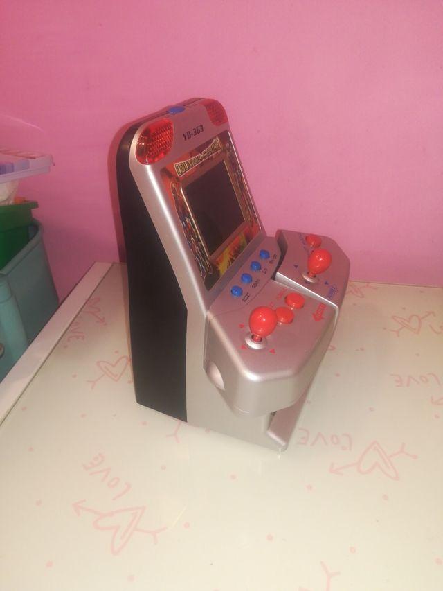 maquina de videojuegos retro