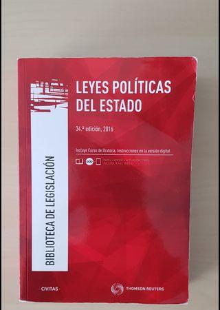 LIBRO LEYES POLÍTICAS DEL ESTADO
