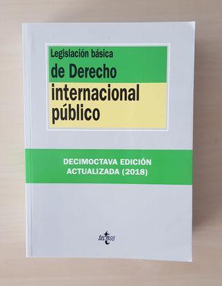 LEGISLACIÓN DERECHO INTERNACIONAL PÚBLICO