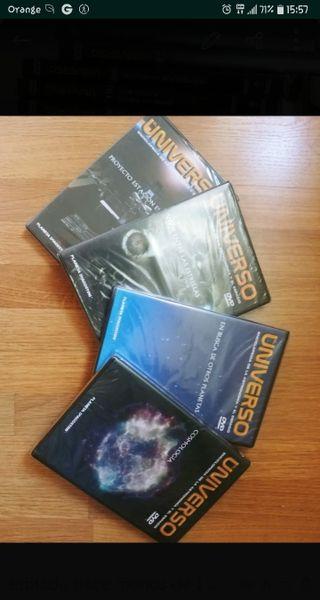 Colección del Universo. 30 DVD's.