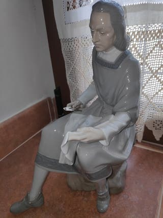 Figura porcelana LLadró Cristóbal Colón