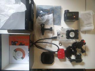 Actioncam Rollei 6S WiFi con Filtro rojo