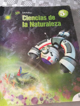 libro de ciencias naturaleza 5 primaria