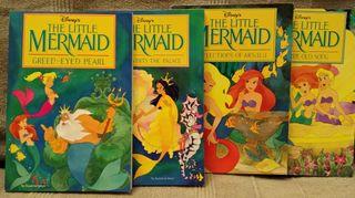 Libros Sirenita de Disney en ingles