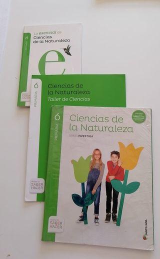 Libros Ciencias De La Naturaleza 6 PRIMARIA