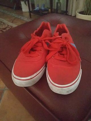 zapatillas rojas Ralph Lauren 41 + otras de PH