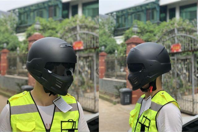 Nouveau casque de combat