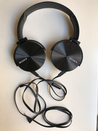 Auriculares SONY MDR-XB450