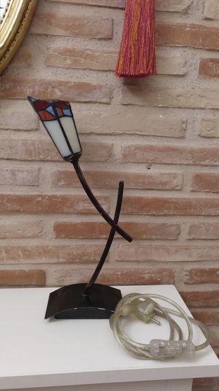 lámpara tipo Tiffany ¡MUY BUENA CALIDAD!