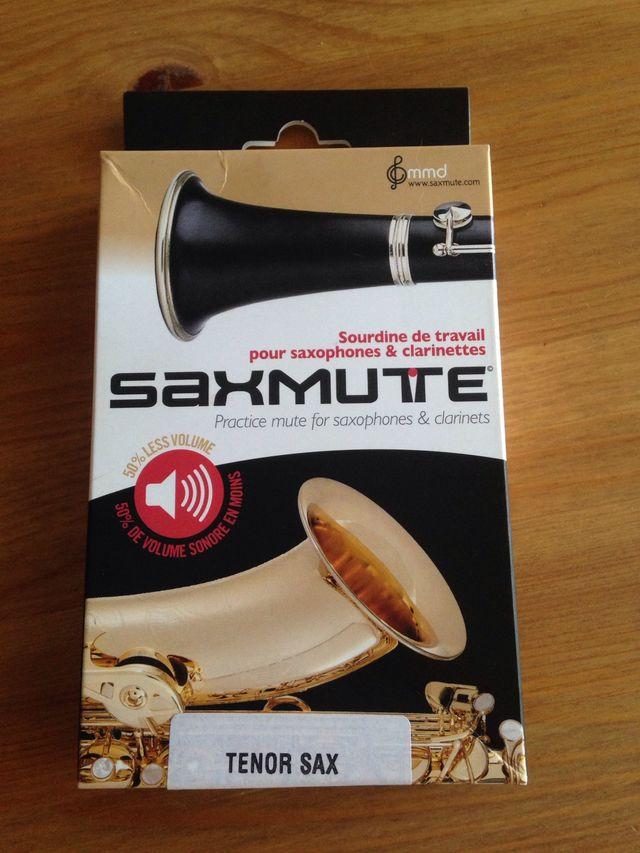 Sordina para saxo tenor o clarinete