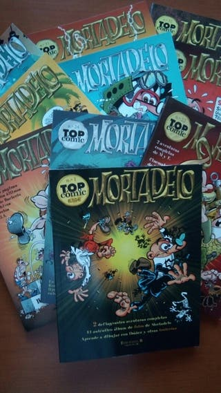 Mortadelo Top Cómic del número 1 al 32