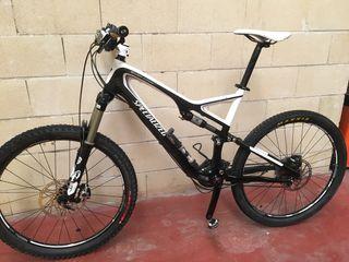 Bicicleta specialized stumpjumper carbono 26