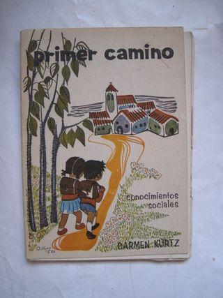 libro Primer Camino conocimientos sociales Carmen