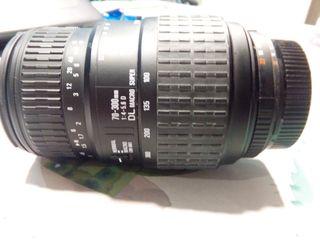 Objetivo zoom Sigma 70-300mm f4-5.6 DL Macro Super