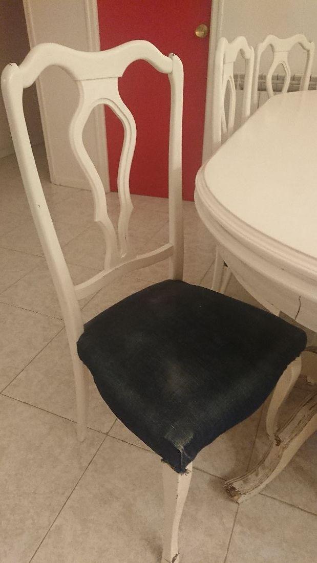 Mesa comedor Vintage ÚNICA + 6 sillas