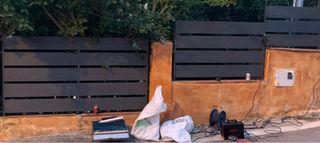 Vallas rejas tejados puertas cocheras