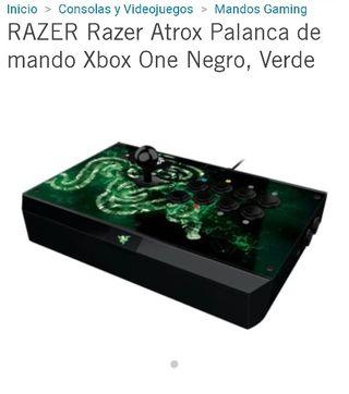 Razer Atrox palanca de mando Xbox One Negro,Verde