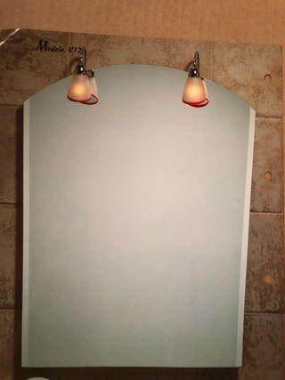 Espejo de 100 x 70 cm, grosor 5mm