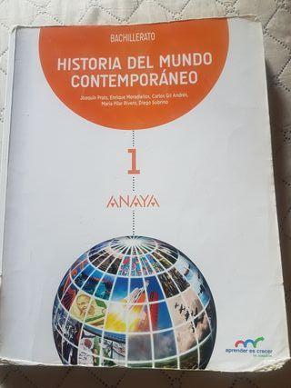 LIBRO HISTORIA 1° BACHILLERATO