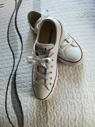 zapatillas converse cuero