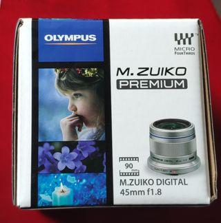 Objetivo Olympus M.Zuiko Digital 45mm f/1.8