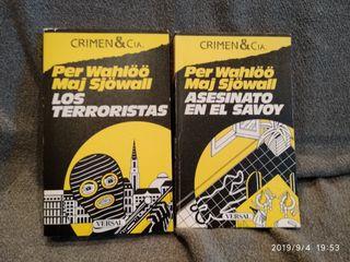 PER WAHLOO MAJ SJOWALL LOS TERRORISTAS