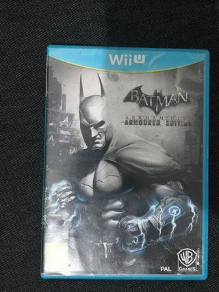 Juego Batman Arkhan city Wii U, Armored Edition