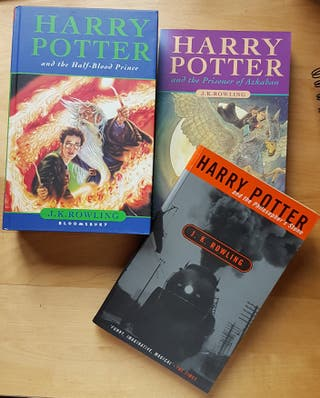 libros de Harry Potter en inglés.