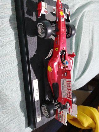 Maqueta F10 Fernando Alonso Hot Wheels