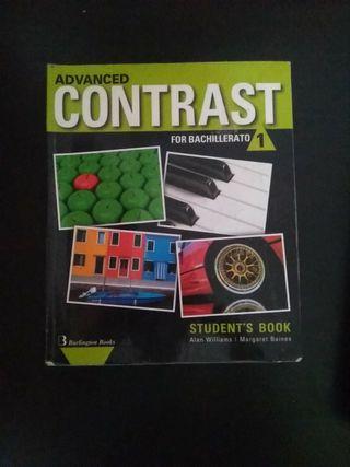 Libro Inglés Advanced Contrast for bachillerato